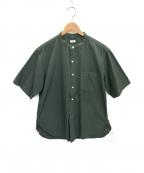 BLURHMS(ブラームス)の古着「シャツ」 カーキ