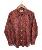 ()の古着「長袖シャツ」 レッド