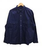 Porter Classic(ポータークラシック)の古着「シャツ」|ネイビー