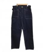 TCB jeans(ティーシービー ジーンズ)の古着「ペインターパンツ」|インディゴブルー