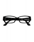 ()の古着「眼鏡」|ブラック