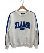 X-LARGE(エクストララージ)の古着「スウェット」|ホワイト×ブルー