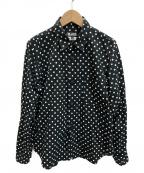 BLACK COMME des GARCONS(ブラックコムデギャルソン)の古着「シャツ」|ブラック