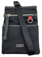 TUMI(トゥミ)の古着「ショルダーポーチ」 ブラック