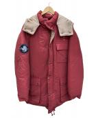 ()の古着「ダウンジャケット」|レッド