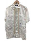 WTAPS(ダブルタップス)の古着「半袖シャツ」|ホワイト