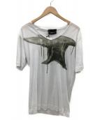 DIESEL BLACK GOLD(ディーゼルブラックゴールド)の古着「Tシャツ」|ホワイト