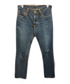 Joe McCOY(ジョーマッコイ)の古着「セルビッチデニムパンツ」|インディゴ