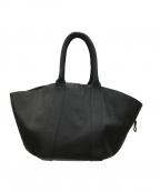 PORTER×5525gallery(ポーター×5525ギャラリー)の古着「レザートートバッグ」|ブラック