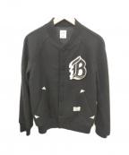 BEDWIN &THE HEARTBREAKERS(ベドウィンアンドザ ハートブレイカーズ)の古着「スタジャン」 ブラック