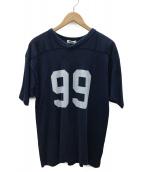 Ron Herman(ロンハーマン)の古着「フットボールTシャツ」|ネイビー