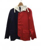 Sandinista()の古着「Umbrella Jacket」 ネイビー×レッド
