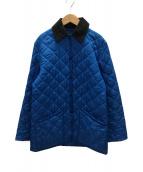 LAVENHAM(ラヴェンハム)の古着「キルティングコート」|ブルー