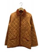 LAVENHAM(ラヴェンハム)の古着「キルティングコート」|オレンジ
