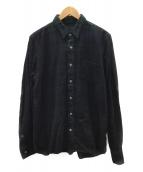 sacai(サカイ)の古着「長袖シャツ」|グリーン×ネイビー