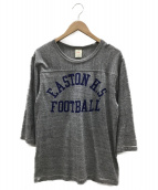 東洋エンタープライズ(トウヨウエンタープライズ)の古着「ラグランTシャツ」|グレー