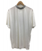 ACNE STUDIOS(アクネステュディオズ)の古着「モックネックTシャツ」|ホワイト