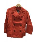 LONDON Tradition(ロンドントラディション)の古着「コート」|オレンジ