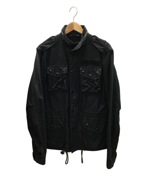 F.O.B FACTORY(エフオービー ファクトリー)F.O.B FACTORY (エフオービーファクトリー) M65ジャケット ブラック サイズ:Mの古着・服飾アイテム