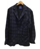 PENDLETON(ペンドルトン)の古着「ウールジャケット」|ネイビー