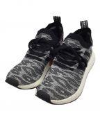 adidas()の古着「エヌエムディー R2 プライムニット」 ブラック×ホワイト