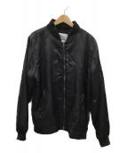 Lafayette(ラファイエット)の古着「MA-1ジャケット」 ブラック