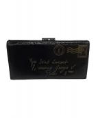 Yves Saint Laurent(イブサンローラン)の古着「長財布」|ブラック