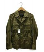 green label relaxing(グリーンレーベルリラクシング)の古着「ミリタリージャケット」|オリーブ