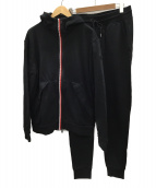 MONCLER(モンクレール)の古着「セットアップジャージ」|ブラック