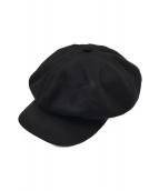 RADIALL(ラディアル)の古着「キャスケット」|ブラック