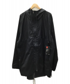 UNDER ARMOUR(アンダーアーマー)の古着「コートサイドフィッシュテールジャケット」|ブラック