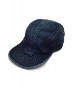 WAREHOUSE(ウェアハウス)の古着「EXPERIMENTAL DENIM CAP」|インディゴ