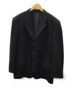 COMME des GARCONS HOMME DEUX(コムデギャルソン オム ドゥ)の古着「3Bジャケット」|ブラック