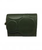 Sybilla(シビラ)の古着「2つ折り財布」 カーキ