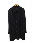 HUGO BOSS(ヒューゴボス)の古着「コート」|ブラック