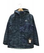 UNDER ARMOUR(アンダーアーマー)の古着「スキーウェア(ジャケット)」|ネイビー