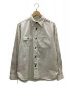 SUGAR CANE(シュガーケーン)の古着「ワークシャツ」|ホワイト