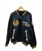 TED COMPANY(テッドカンパニー)の古着「スカジャン」 ブルー×ブラック