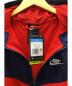 NIKE (ナイキ) フーデッドジャケット ネイビー×レッド サイズ:M:7800円