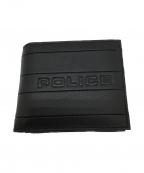 POLICE(ポリス)の古着「2つ折り財布」 ブラック