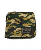 PORTER(ポーター)の古着「GHILLIE財布」|ウッドランドカモ