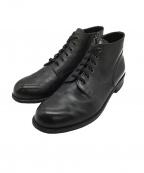 PADRONE(パドローネ)の古着「サイドジップチャカブーツ」 ブラック