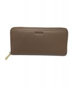 ()の古着「長財布」|ベージュ