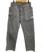 SASSAFRAS(ササフラス)の古着「フォールリーフパンツ」 グレー