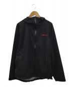 ()の古着「ストームジャケット」 ブラック×レッド