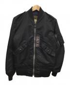 BUZZ RICKSON'S(バズリクソンズ)の古着「フライトジャケットL-2B」|ブラック