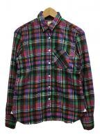 finamore(フィナモレ)の古着「チェックシャツ」 マルチカラー