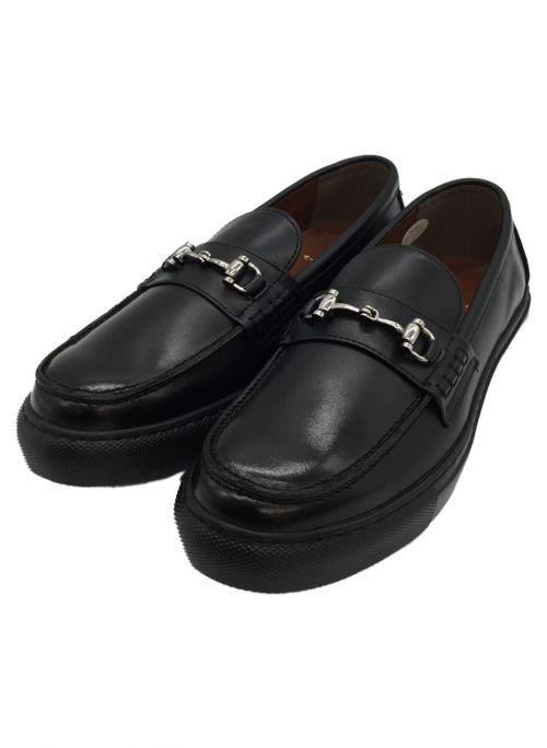 UNITED ARROWS(ユナイテッドアローズ)UNITED ARROWS (ユナイテッドアローズ) ローファー ブラック サイズ:8 1/2の古着・服飾アイテム