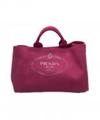 PRADA(プラダ)の古着「CANAPA(カナパ)」|ショッキングピンク