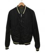 GUCCI(グッチ)の古着「リバーシブルジャケット」|ブラック×カーキ